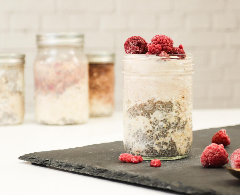 raspberry-lemonade-overnight-oats