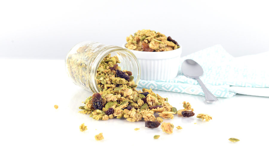 matcha-granola